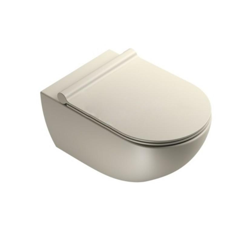 Ceramica Catalano Listino Prezzi.Catalano Vaso Sospeso Sfera 54x35 Catalano Grigio Satinato
