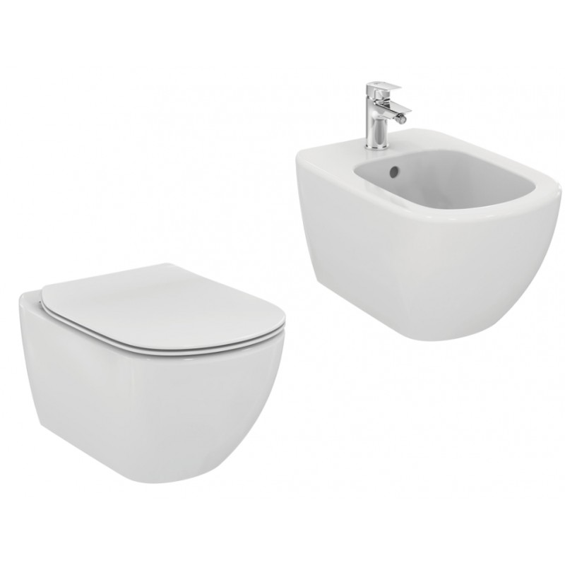 Sanitari sospesi ideal standard tesi wc bidet for Ideal standard tesi scheda tecnica