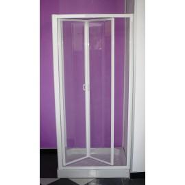 Porta per vano doccia con movimento a soffietto Cristallo 3 mm