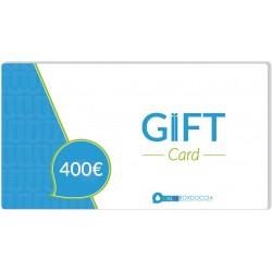 Gift Card 400 euro un regalo a portata di click