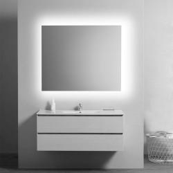 Su Misura Specchio da Bagno Filo Lucido Retroilluminate led 20W art. spe06