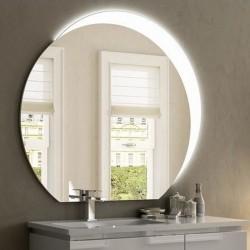 Specchio Bagno Tondo con Cornice Sabbiata Retroilluminata led 20 watt ART. SPE08