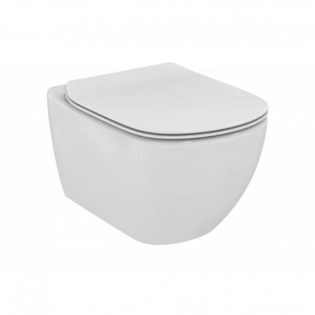 Sanitari Sospesi Ideal Standard Tesi Wc AQUABLADE® art. T3547 e Coprivaso Ultra Slim