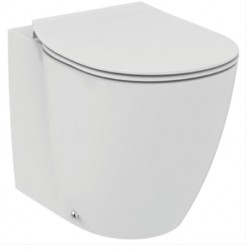 Wc Connect AQUABLADE® con Scarico Traslato art. E052501 Ideal Standard con Coprivaso Ultra Slim