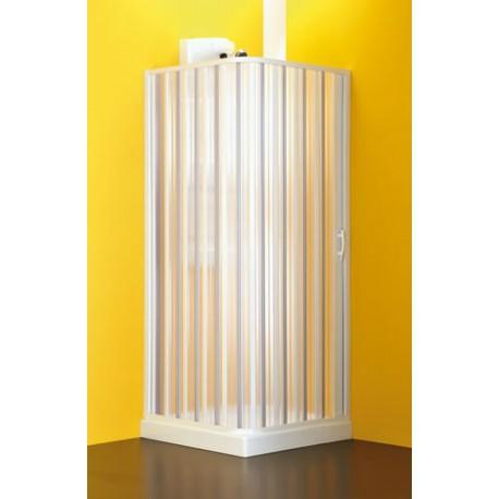 Cabina doccia alfa apertura laterale vendita online italiaboxdoccia - Cabine doccia a soffietto ...