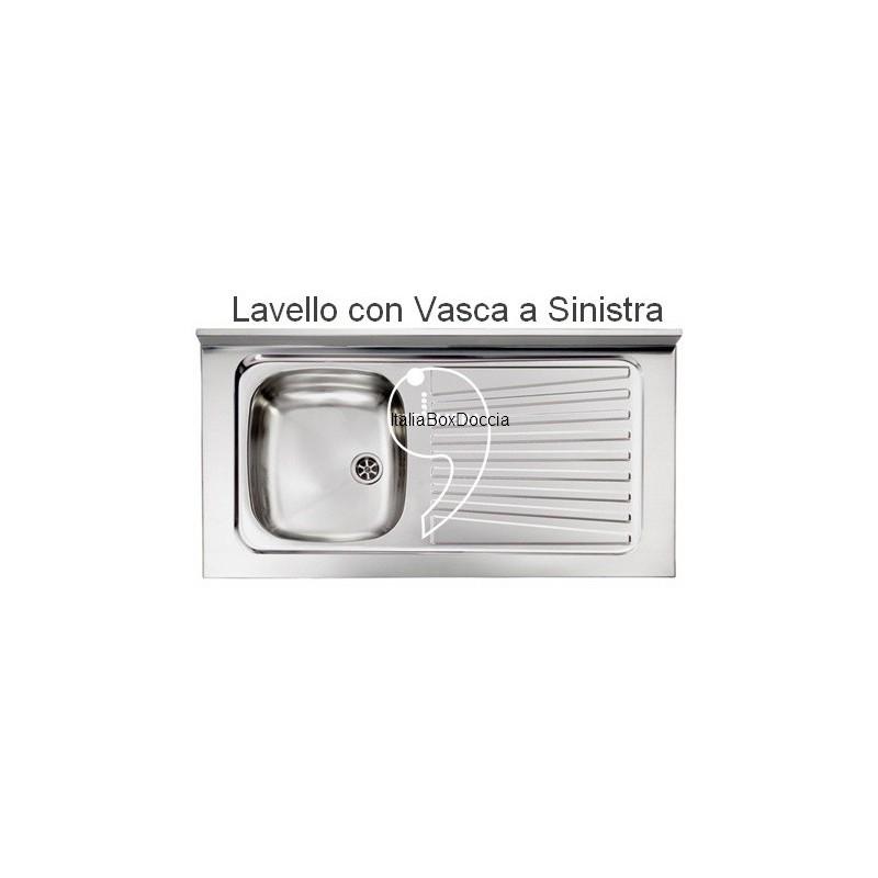 lavelli cucina ceramica e acciaio - vendita online italiaboxdoccia