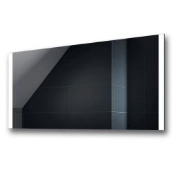 Su Misura Specchio per Sala da Bagno Filo Lucido con Fasce Laterali Sabbiate Retroilluminate a led 20W art. spe94