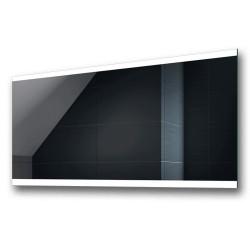 Su Misura Specchio per Sala da Bagno Filo Lucido con Fasce Laterali Sabbiate Retroilluminate a led 20W art. spe100