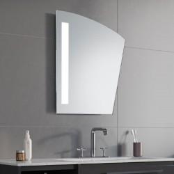 Specchio Bagno Su Misura Filo Lucido Retroilluminante led 20W mod. Lisbona