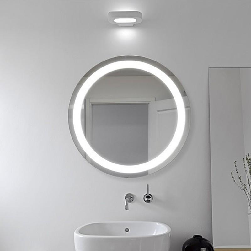 Specchio Tondo Bagno.Specchio Bagno Filo Lucido Retroilluminante Led 20w Rotondo Stromboli