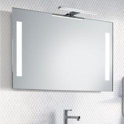 Su Misura Specchio da Bagno con Lampada Led 5W art. Milano01