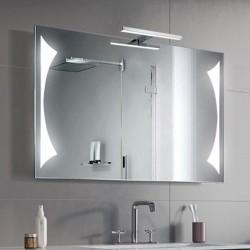 Su Misura Specchio da Bagno con Lampada Led 5W art. Triangolo