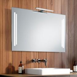 Su Misura Specchio da Bagno con Lampada Led 5W art. Gaia01