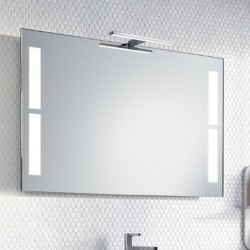 Su Misura Specchio da Bagno con Lampada Led 5W art. Miami01