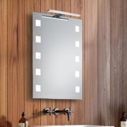 Su Misura Specchio da Bagno con Lampada Led 5W art. Afrodite01