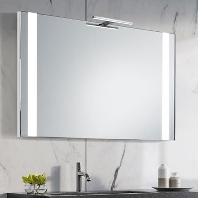 Specchio Bagno Con Lampada.Su Misura Specchio Da Bagno Con Lampada Led 5w Art Liberty1