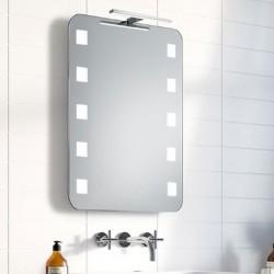 Su Misura Specchio da Bagno con Lampada Led 5W art. Marte01