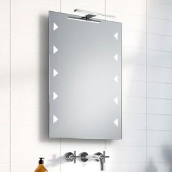 Su Misura Specchio da Bagno con Lampada Led 5W art. Mirra01