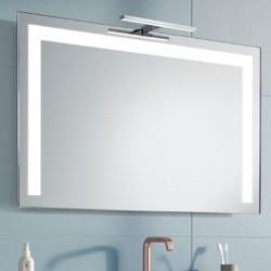 Su Misura Specchio da Bagno con Lampada Led 5W art. Nettuno01
