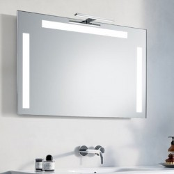 Su Misura Specchio da Bagno con Lampada Led 5W art. Roky01