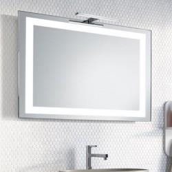 Su Misura Specchio da Bagno con Lampada Led 5W art. Saturno01