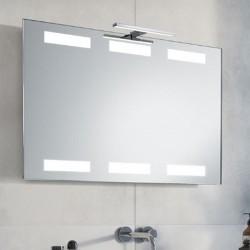 Su Misura Specchio da Bagno con Lampada Led 5W art. Urano01