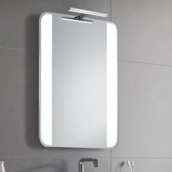 Su Misura Specchio da Bagno con Lampada Led 5W art. Fiore01
