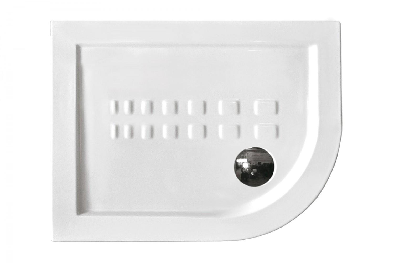 Althea piatto doccia ad angolo dx 90x70 cm asimmetrico