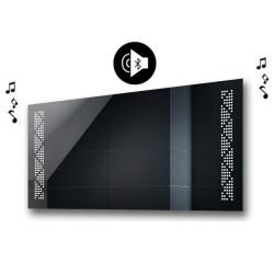 Specchio da Bagno con Angoli Squadrati e Altoparlante Bluetooth Retroilluminato led 20W art. spe407