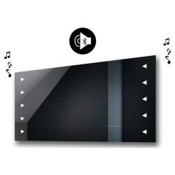 Specchio da Bagno con Angoli Squadrati e Altoparlante Bluetooth Retroilluminato led 20W art. spe434