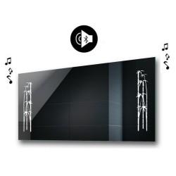 Specchio da Bagno con Angoli Squadrati e Altoparlante Bluetooth Retroilluminato led 20W art. spe438