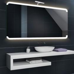 Su Misura Specchio da Bagno con Lampada Led 5W art. Luna02