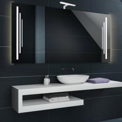 Su Misura Specchio da Bagno con Lampada Led 5W art. Saturno02
