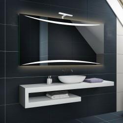 Su Misura Specchio da Bagno con Lampada Led 5W art. Vanity02