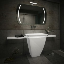 Su Misura Specchio da Bagno con Lampada Led 5W art. Venere02