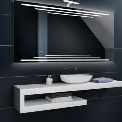 Su Misura Specchio da Bagno con Lampada Led 5W art. Nettuno02