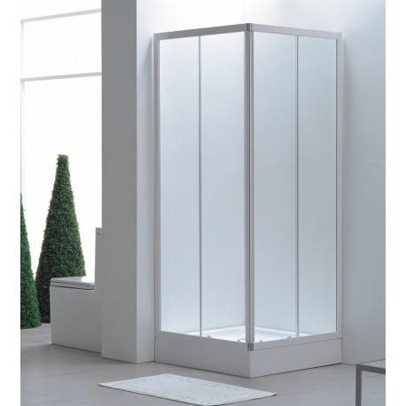 Box doccia rettangolare 60x80 cm cristallo 3 mm vendita online italiaboxdoccia - Box doccia globo ...