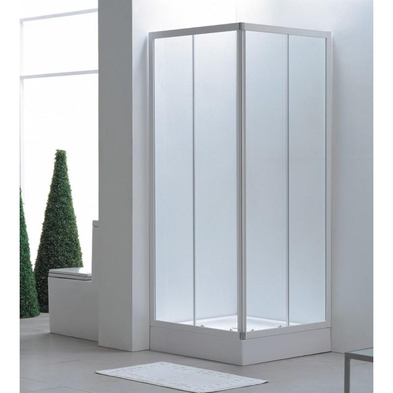 Box Doccia In Cristallo Satinato : Box doccia rettangolare cm cristallo mm vendita