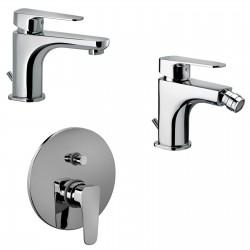 sly paffoni miscelatori lavabo bidet incasso doccia con deviatore