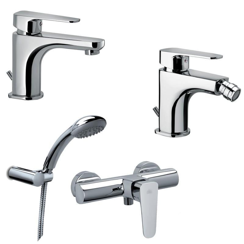 Sly paffoni miscelatori lavabo bidet doccia esterno for Lavabo per esterno