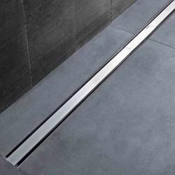 Canaletta Geberit CleanLine60 acciaio inox spazzolato 30-130 cm + Kit montaggio