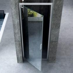 Box Doccia ad Apertura Battente Cristallo 6 mm Altezza 185 cm art. OM31