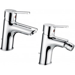Fratelli Frattini Mito Miscelatori Lavabo art. 81054 + Bidet art. 81103