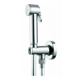 Set idrogetto Bossini Paloma C69017.8 idroscopino completo di rubinetto e supporto