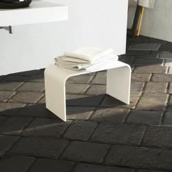 Panca per Ambiente Bagno 60x30 cm in Luxolid Finitura Opaca
