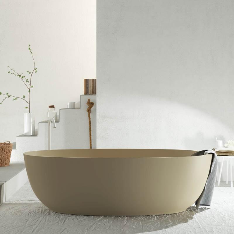 Vasca Da Bagno Freestanding.Relax Design Vasca In Luxolid Ovo Tub