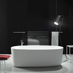 Vasca da bagno freestanding in luxolid Marechiaro Tub 160x80 a libera installazione