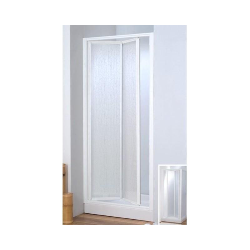 Box doccia con movimento a soffietto parete fissa acrilico vendita online italiaboxdoccia - Cabine doccia a soffietto ...