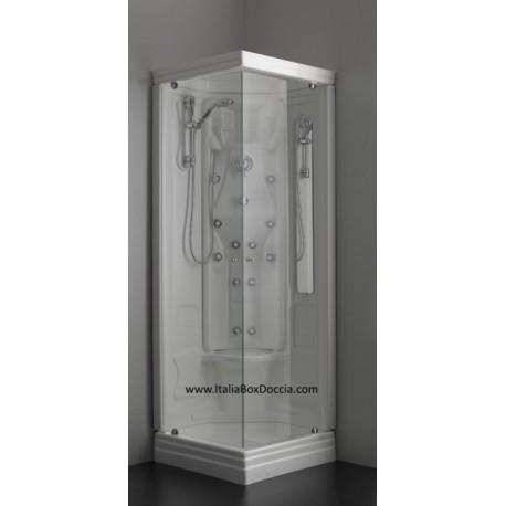 Cabina doccia idromassaggio 70x70 vendita online - Cabine doccia multifunzione ideal standard ...