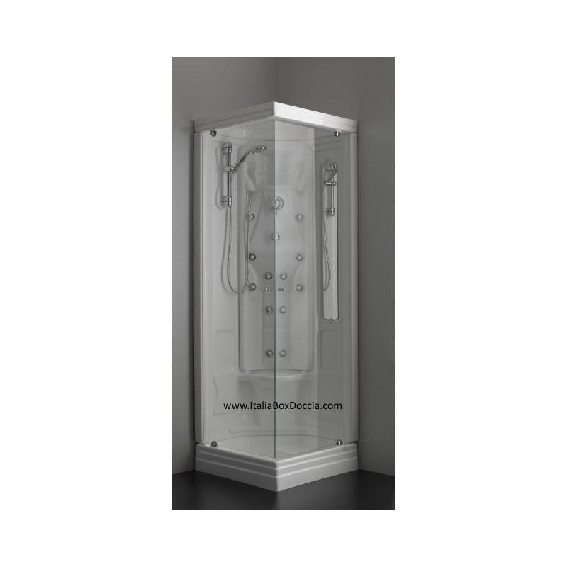 Cabina doccia idromassaggio 75x75 vendita online for Box doccia con idromassaggio